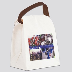 The Games Of War Canvas Lunch Bag