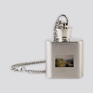 Asher Brown Durand Sunday Morning Flask Necklace