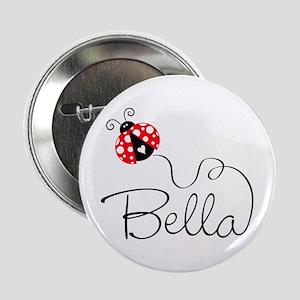 "Ladybug Bella 2.25"" Button"