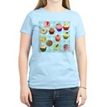 Polka Dot Cupcakes Women's Light T-Shirt