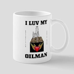 I Luv My Oilman Mug