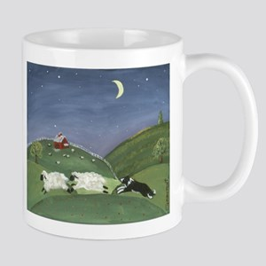 A Sheepdogs Work Is Never Done Mugs