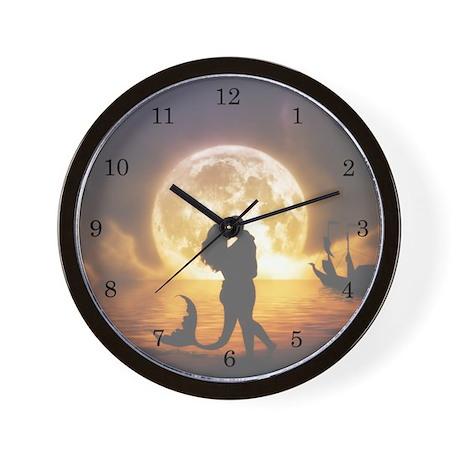 Unspoken Mermaid Wall Clock