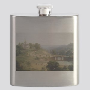 Asher Brown Durand Sunday Morning Flask