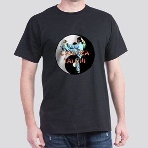 Chai Tea Tai Chi 2 Dark T-Shirt