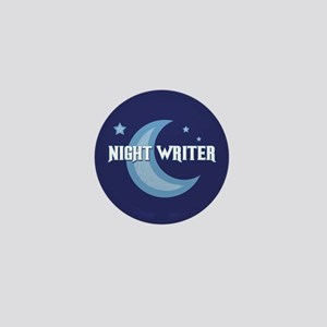 Night Writer Mini Button