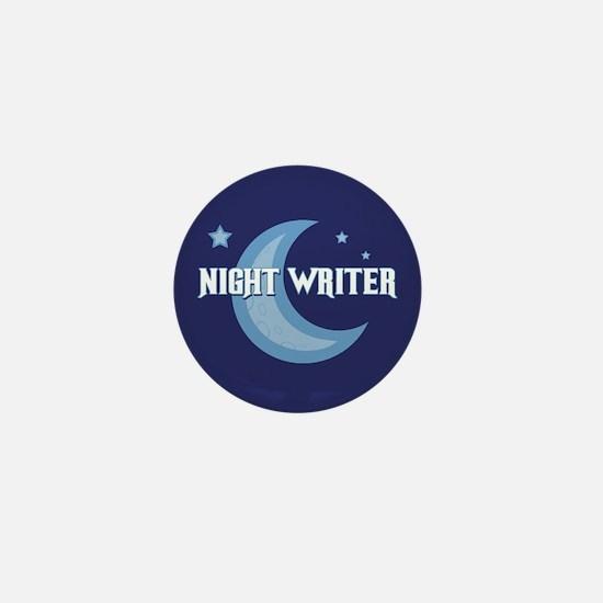 Night Writer Mini Button