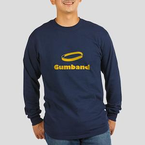Gumband Long Sleeve Dark T-Shirt