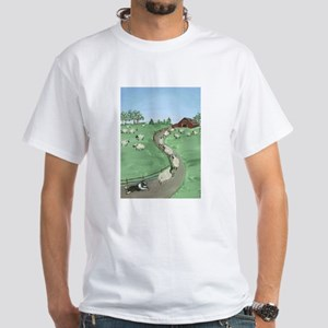 Street of Dreams White T-Shirt