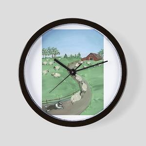 Street of Dreams Wall Clock