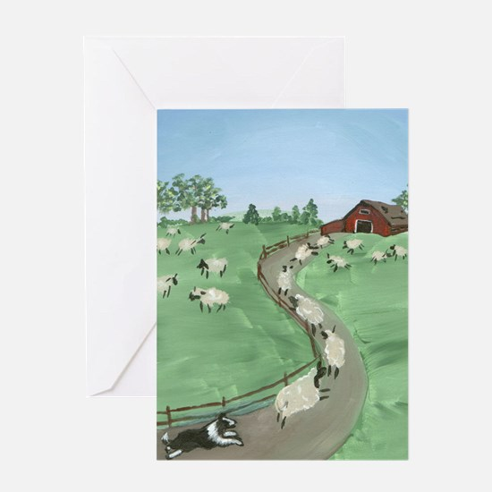 Street of Dreams Greeting Card