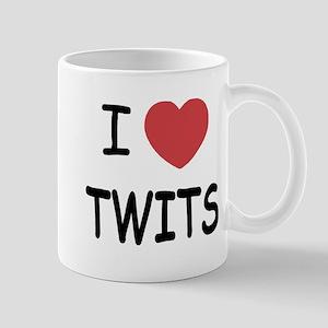 I heart twits Mug