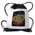 Awesome Explosion Drawstring Bag