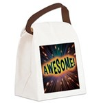 Awesome Explosion Canvas Lunch Bag
