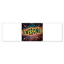 Awesome Explosion Bumper Sticker