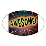 Awesome Explosion Sticker