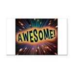 Awesome Explosion Rectangle Car Magnet