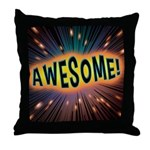 Awesome Explosion Throw Pillow