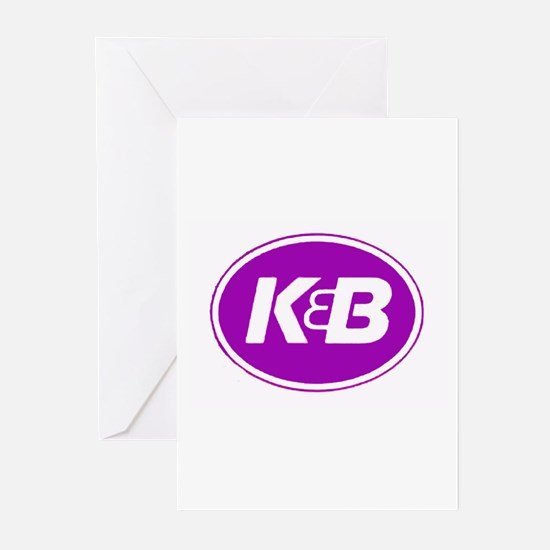 K&B Retro Greeting Cards (Pk of 10)