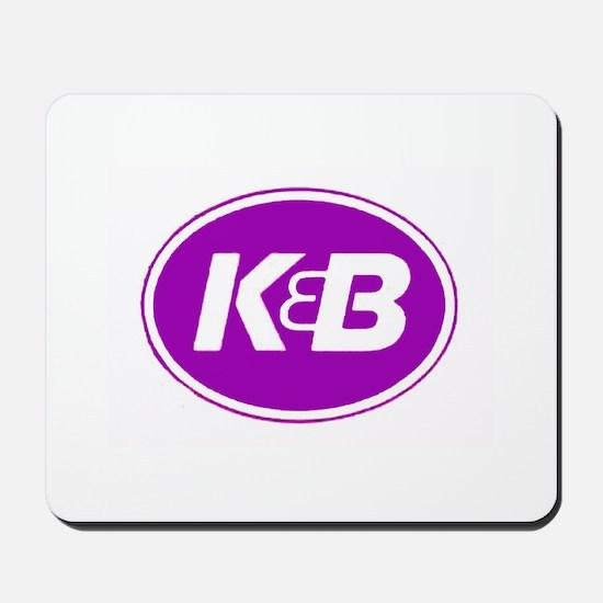 K&B Retro Mousepad