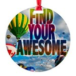 Find Your Awesome Ornament