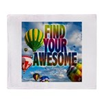 Find Your Awesome Throw Blanket