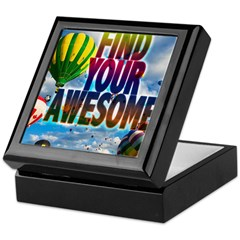 Find Your Awesome Keepsake Box