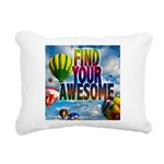 Find Your Awesome Rectangular Canvas Pillow