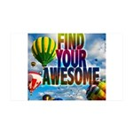 Find Your Awesome Wall Decal