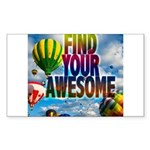 Find Your Awesome Sticker