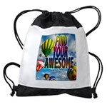 Find Your Awesome Drawstring Bag