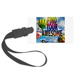 Find Your Awesome Luggage Tag