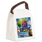 Find Your Awesome Canvas Lunch Bag