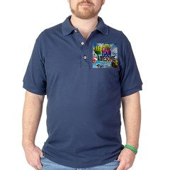 Find Your Awesome Dark Polo Shirt