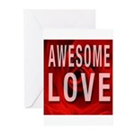 Awesome Love Greeting Cards