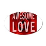 Awesome Love Wall Decal