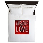 Awesome Love Queen Duvet