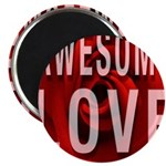 Awesome Love Magnets