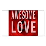 Awesome Love Sticker