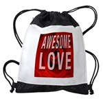 Awesome Love Drawstring Bag