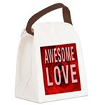 Awesome Love Canvas Lunch Bag