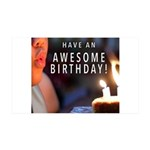 Awesome Birthday Wall Decal