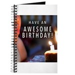 Awesome Birthday Journal