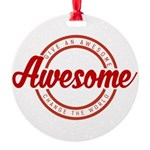 Give an Awesome Ornament