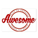 Give an Awesome Postcards (Package of 8)