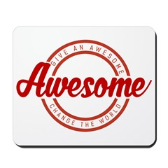 Give an Awesome Mousepad