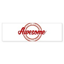 Give an Awesome Bumper Sticker
