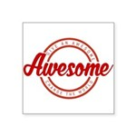 Give an Awesome Sticker