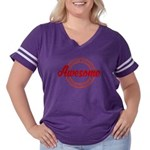 Give an Awesome Women's Plus Size Football T-Shirt