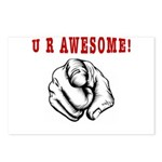U R Awesome Postcards (Package of 8)